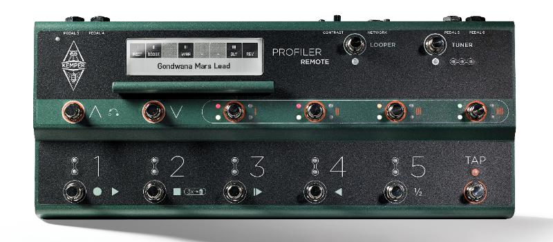 Profiler Remote, le pédalier pour compléter votre Kemper