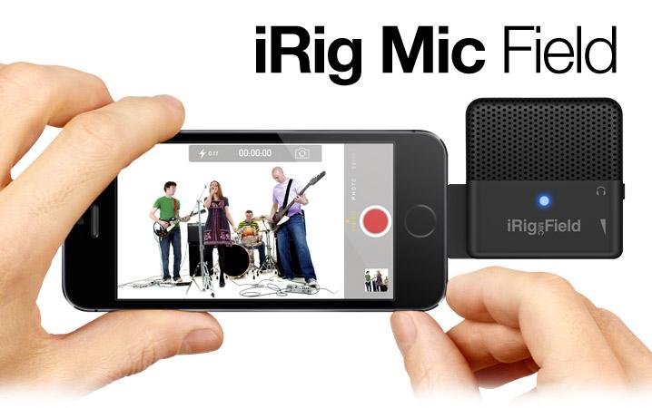 IK Multimedia iRig Mic Field, le micro de poche pour iPhone qu\'il vous faut...