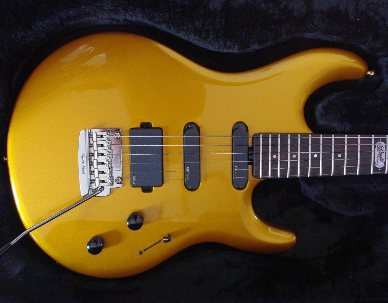 Music Man Luke II BFR True Gold super test, la perfection existe !