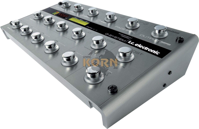TC Electronic G System à gagner avec Korn !