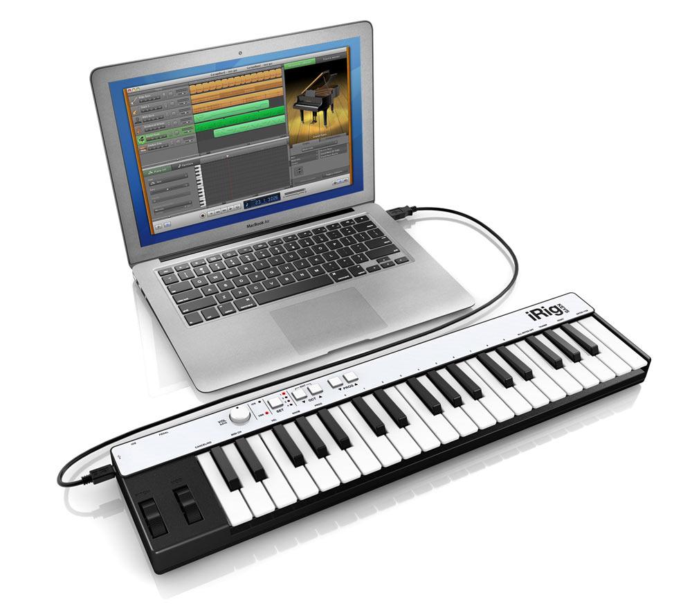 IK Multimedia I-Rig Keys, mini clavier de contrôle midi pour l'automne…
