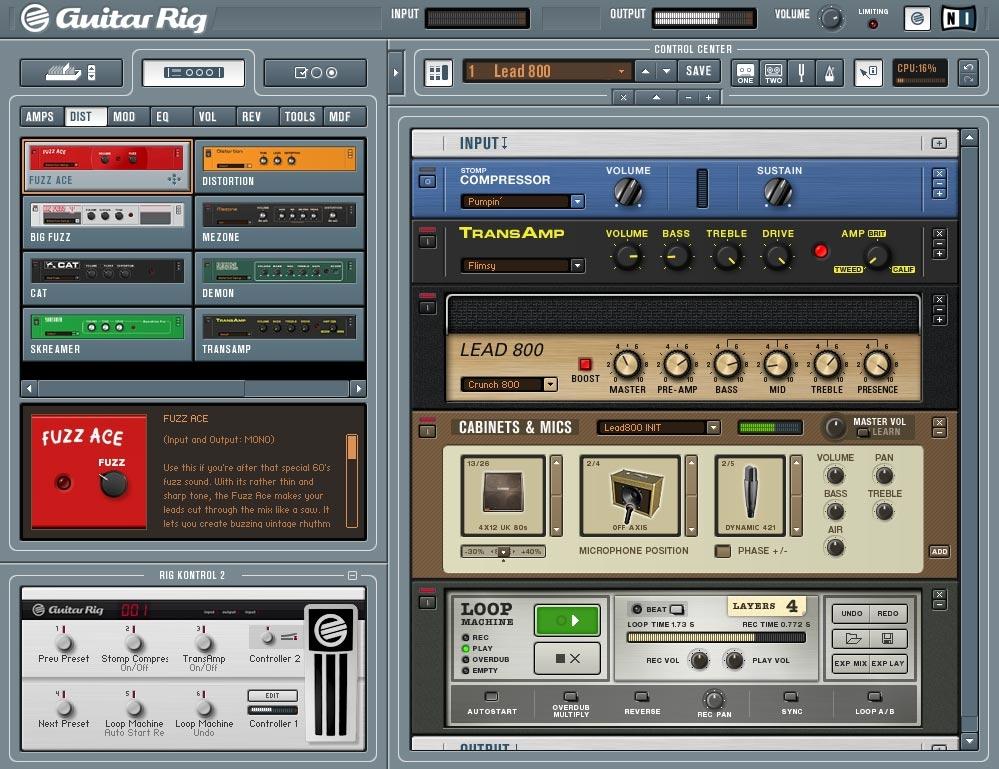 Les meilleurs logiciels pour guitaristes du moment, petit tour d\'horizon...