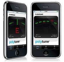 TC Electronic polytune pour iPhone, l\'accordeur ultime pour 0,79 euros...